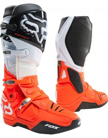 Fox Racing 2021 Instinct Boot Black/White/Orange