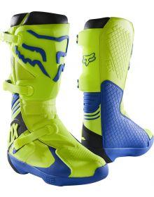 Fox Racing Comp Boot Yellow/Blue