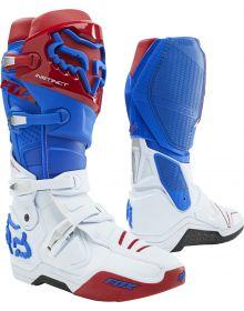 Fox Racing Instinct Boot Blue/Red