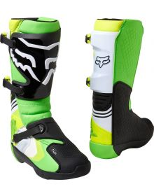 Fox Racing Comp Boot Green/Yellow
