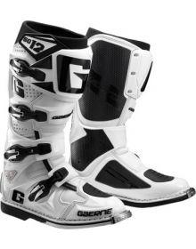 Gaerne SG-12 Boots White W/Black Letter G