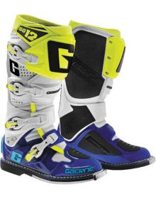 Gaerne SG12 Limited Edition Boots Blue/Fluorescent Yellow