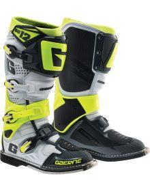 Gaerne SG12 Boots Black/White/Grey/Neon Yellow