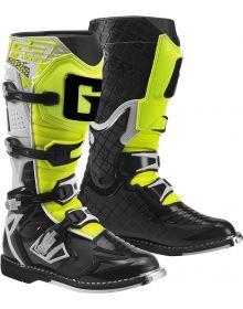 Gaerne G-React Boots White/Black/Yellow