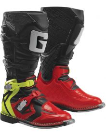 Gaerne 2019 G-React Boots Red/Yellow/Black
