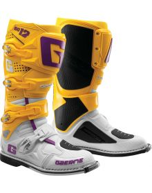 Gaerne SG12 Limited Edition Boots White/Gold/Purple