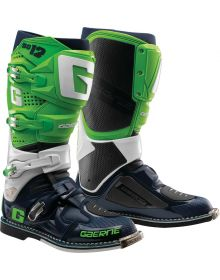 Gaerne SG12 Limited Edition Boots Green/White/Navy