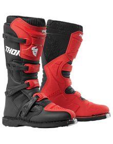 Thor Blitz XP Boots Red/Black