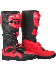 Fly Racing 2019 Maverik Boots Red/Black