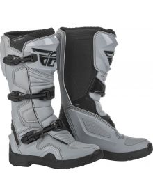 Fly Racing 2021 Maverick Boots Grey/Black