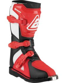 Answer Racing A22 AR1 Youth Boot Black/Red