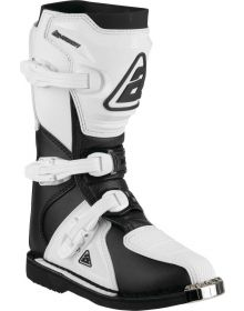 Answer Racing A22 AR1 Youth Boot Black/White