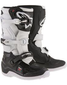 Alpinestars Tech 7S Youth Boots Black/White