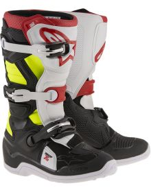 Alpinestars Tech 7S Youth Boots Black/Red/Yellow