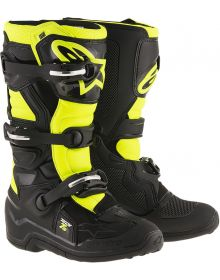 Alpinestars Tech 7S Youth Boots Black/Yellow