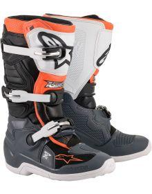 Alpinestars Tech 7S Youth Boots Black/Gray/White/Orange
