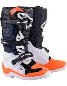 Alpinestars 2021 Tech 7S Youth Boots Black/Orange