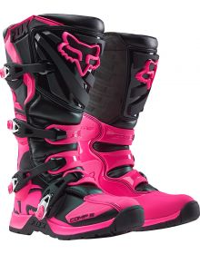 Fox Racing Comp 5 Youth Boots Black/Pink