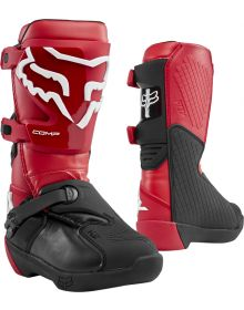 Fox Racing 2020 Comp Youth Boot Flame Red