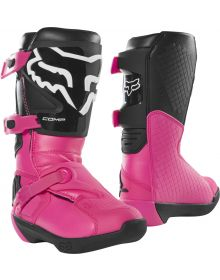 Fox Racing 2020 Comp Youth Boot Black/Pink