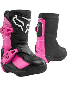 Fox Racing 2020 Comp K Kids Boot Black/Pink