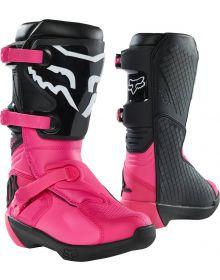 Fox Racing 2021 Comp Youth Boot Black/Pink
