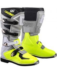 Gaerne 2020 GX-J Youth Boots Grey/Flo Yellow