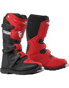 Thor Blitz XP Youth Boots Red/Black