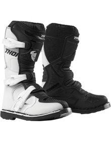 Thor Blitz XP Youth Boots White/Black