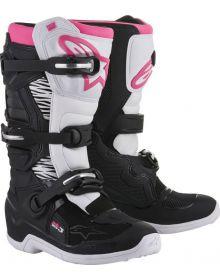 Alpinestars 2018 Tech 3 Stella Womens Boots Black/White/Pink