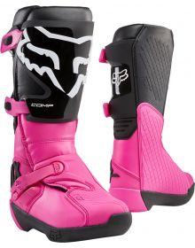 Fox Racing 2020 Comp Womens Boot Black/Pink