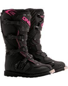 O'Neal Women Rider Boot Black/Pink