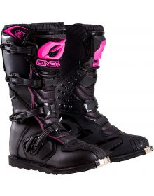O'Neal 2020 Rider Womens Boots Black/Pink