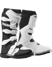Thor Blitz XP Womens Boots White/Black