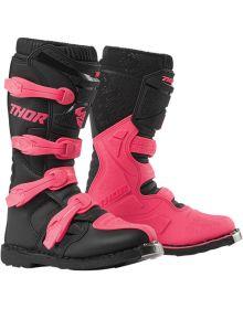 Thor Blitz XP Womens Boots Black/Pink