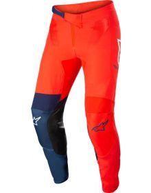 Alpinestars 2022 Supertech Blaze Pants Bright Red/Dark Blue/White