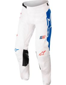 Alpinestars 2022 Racer Compass Pants Off White/Fluo Red/Blue