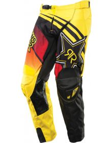 Answer Rockstar-14 Pants Black/Red/Yellow