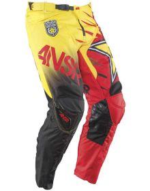 Answer 2015 Rockstar Pants Red/Yellow