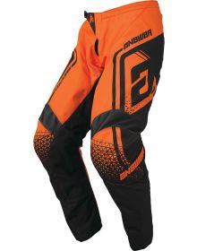 Answer Racing 2019 Syncron Drift Pants Flo Orange/Charcoal