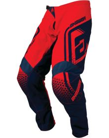 Answer Racing 2019 Syncron Drift Pants Bright Red/Midnight