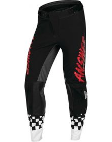 Answer Racing A22 Elite Redzone Pant Black/Red