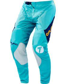 Seven 16.2 Zero Pants Blade Aqua/Navy