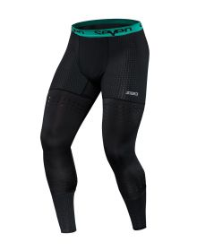 Seven Zero Compression Pant Black