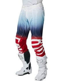 Fox Racing Airline Reepz Pant White/Red/Blue
