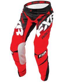 FXR 2018 Mission Pants Black/Red/White