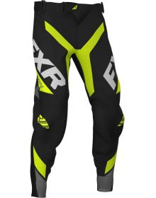 FXR 2020 Revo MX Pant Hi Vis/Black/Charcoal/White