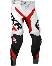 FXR 2020 Revo MX Pant White/Red/Charcoal/Black