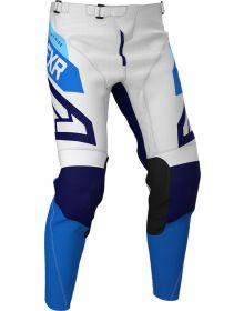 FXR 2020 Podium Air MX Pant White/Navy/Blue