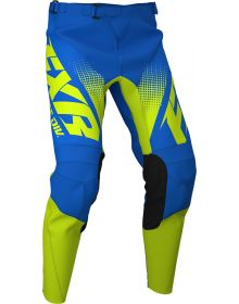FXR 2020 Clutch MX Pant Blue/Hi Vis